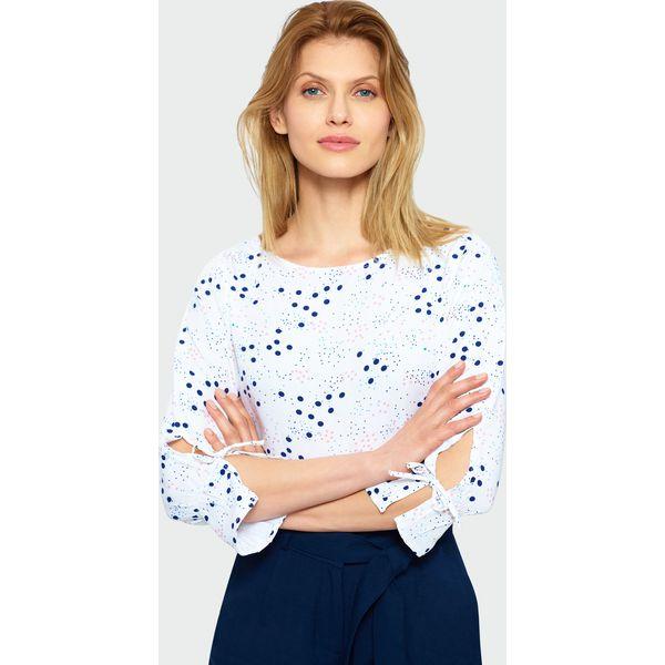 43337cc2791d85 Elegancka bluzka z rękawem 3/4 - Bluzki damskie marki Greenpoint. Za ...