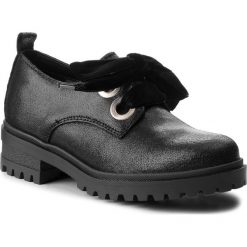 399bc721e755d Oxfordy TOMMY JEANS - Metallic Cleated Sho EN0EN00378 Black 990. Czarne półbuty  damskie marki Tommy