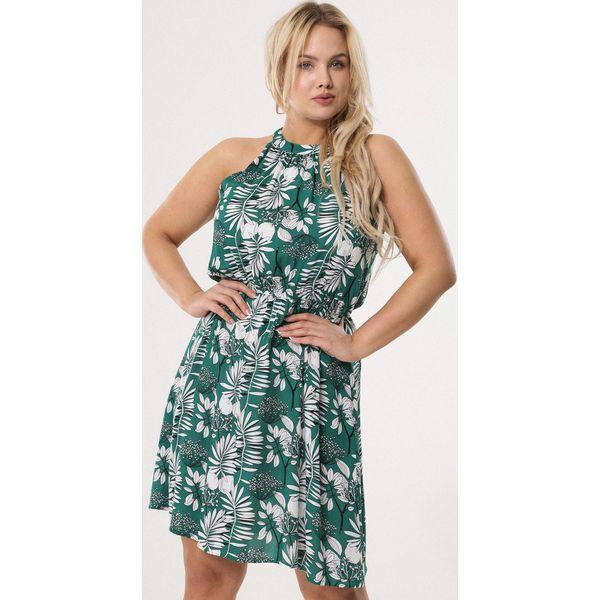 4a11f5b5e2 Zielona Sukienka Calm As - Sukienki damskie marki Born2be. Za 69.99 ...