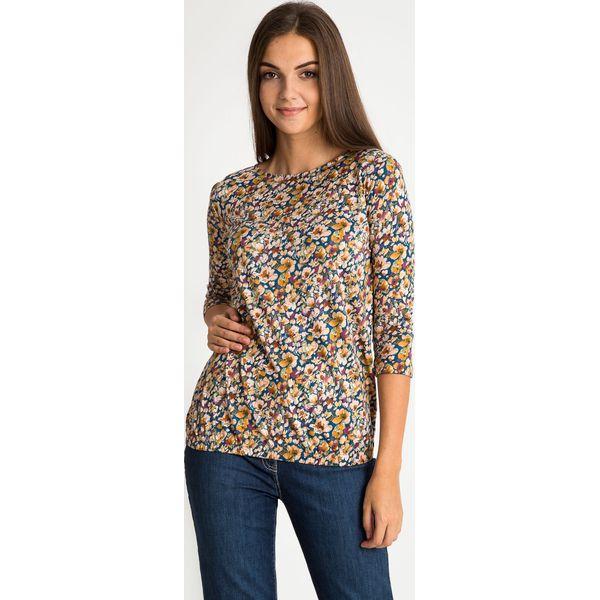 b500b66f974d Bluzka z florystycznym printem QUIOSQUE - Bluzki damskie marki ...