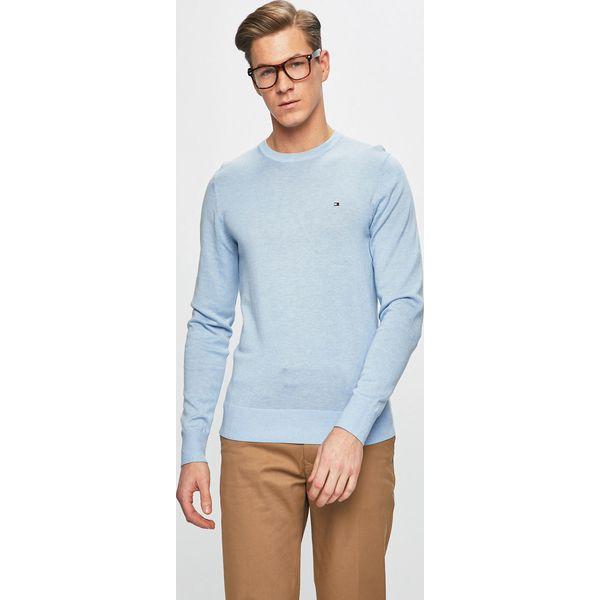97acc1f74bb0f Tommy Hilfiger - Sweter - Swetry męskie marki Tommy Hilfiger. W wyprzedaży  za 359.90 zł. - Swetry męskie - Bluzy i swetry męskie - Odzież męska -  Mężczyzna ...