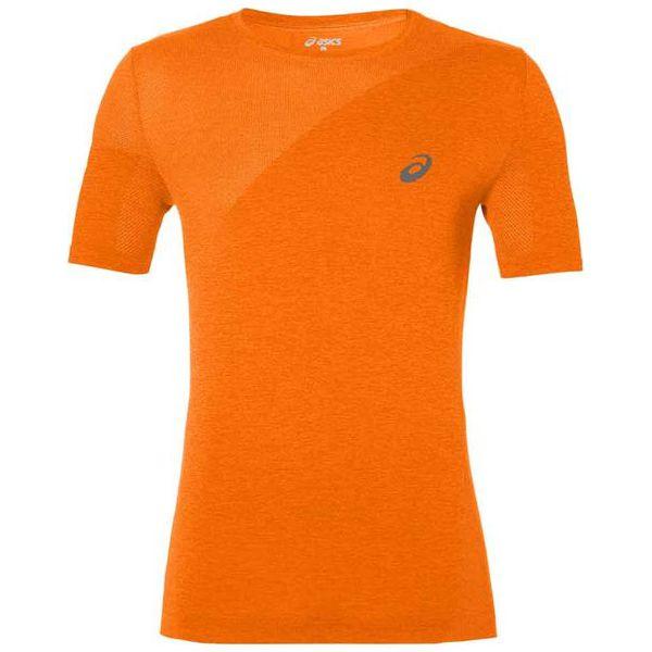 d8ccbae4651342 Asics Koszulka Męska Seamless Top Pomarańczowa M - Brązowe t-shirty ...