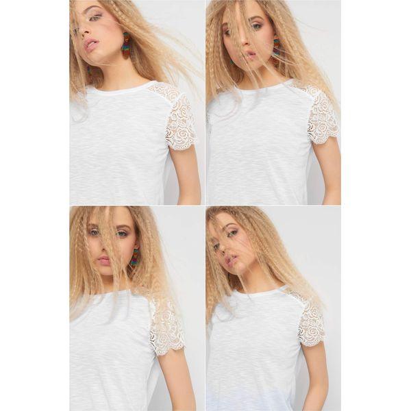 c2f96bd53b3140 Koszulka z koronką - T-shirty damskie ORSAY. Za 39.99 zł. - T-shirty ...