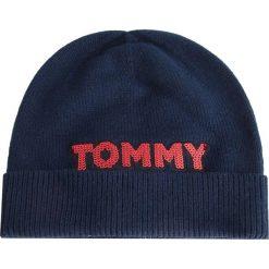 2019d8ec80806 Czapka TOMMY HILFIGER - Patch Knit Bea AW0AW06184 413. Czapki zimowe  damskie marki Tommy Hilfiger