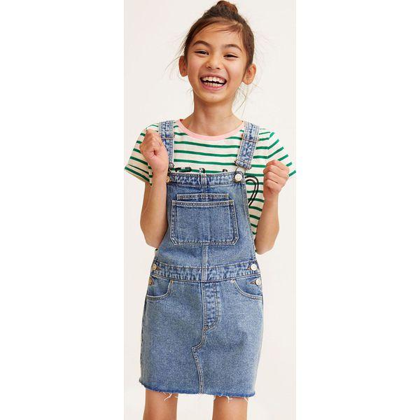 48818ab59b Mango Kids - Sukienka dziecięca Paula 104-152 cm - Sukienki ...