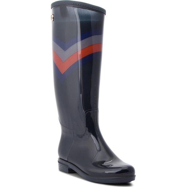 c94254e14359d Kalosze TOMMY HILFIGER - Corporate Long Rain FW0FW03563 Rwb 020 ...