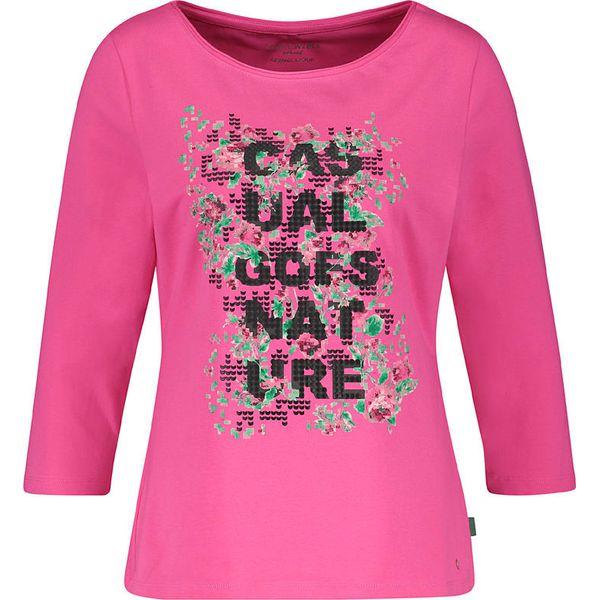 c2eaa141aab834 Koszulka w kolorze różowym - Bluzki damskie marki Gerry Weber. W ...