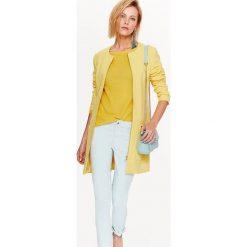 Żółte płaszcze damskie Kolekcja jesień 2020 Sklep Super