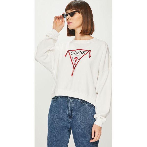 099b51421a099 Guess Jeans - Bluza - Bluzy bez kaptura damskie marki Guess Jeans. W ...