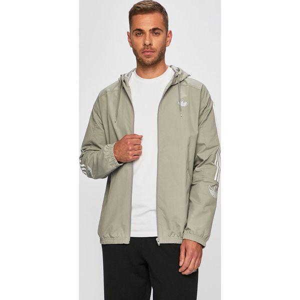 01c58533892dd5 adidas Originals - Kurtka - Szare kurtki męskie marki adidas ...