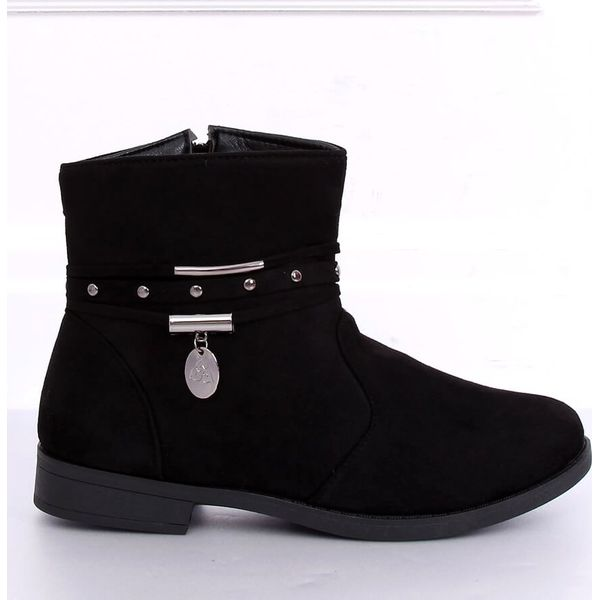 Botki damskie czarne 3820 Black
