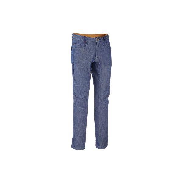 e1fcee36562fd5 Spodnie turystyczne NH550 denim męskie - Spodnie materiałowe męskie ...