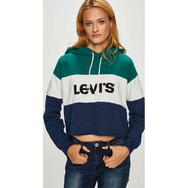 285115467 Levi's - Bluza - Bluzy z kapturem damskie Levi's. W wyprzedaży za ...
