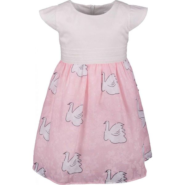 025514fc Happy Girls sukienka dziewczęca 62 jasnoróżowa