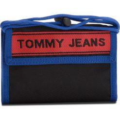 85f90476b596a Duży Portfel Męski TOMMY JEANS - Tj Logo Tape Crossov AU0AU00258 902. Portfele  męskie marki