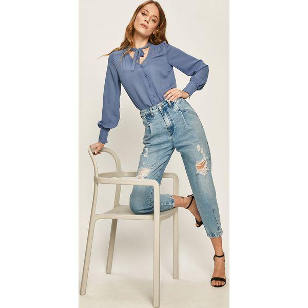 Answear Koszula Niebieskie koszule damskie ANSWEAR, l  s14VL