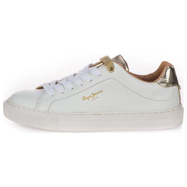 eda5caa8a34d0 Pepe Jeans Tenisówki Damskie Adams Premium 36 Białe - Trampki i ...