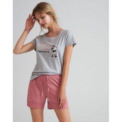 2d44c4f9c7173a Piżama Disney - Jasny szary. Szare piżamy damskie Reserved, l, bez wzorów,