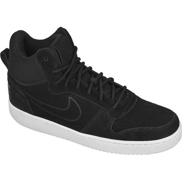 Czarne Buty Nike Sportswear Court Borough Mid Premium M 844884 007