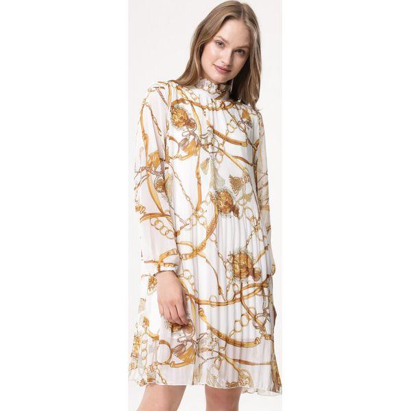 17d50885ac Biała Sukienka Coladeira - Białe sukienki damskie marki Born2be
