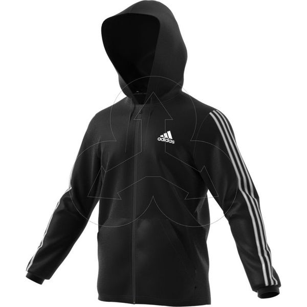 adidas bluza czarna z kapturem