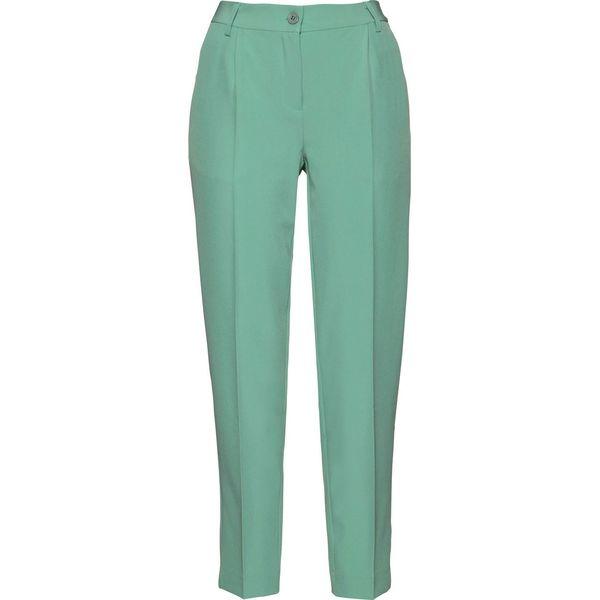 7bba4d409f63e7 Spodnie 7/8 bonprix zielony szałwiowy - Spodnie materiałowe damskie  bonprix. Za 54.99 zł. - Spodnie materiałowe damskie - Spodnie i legginsy  damskie ...