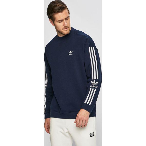 2c1915e35 adidas Originals - Bluza - Niebieskie bluzy bez kaptura męskie marki adidas  Originals, l, z bawełny. Za 199.90 zł. - Bluzy bez kaptura męskie - Bluzy i  ...