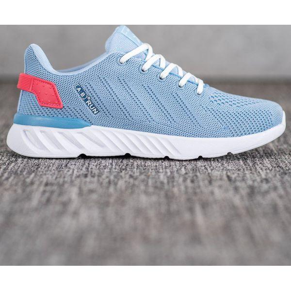 Ax Boxing Lekkie Ażurowe Buty Sportowe niebieskie