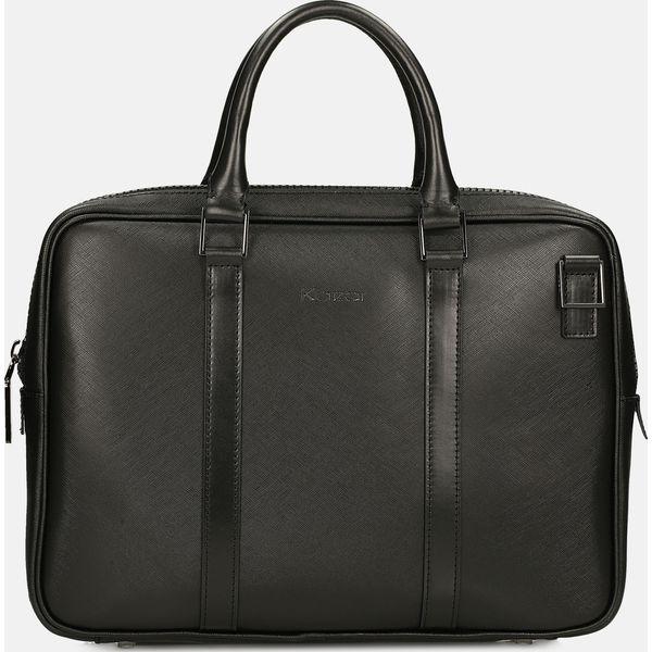 fa63a92c7446a Czarna torba na laptopa - Torby na laptopa damskie marki Kazar. Za ...
