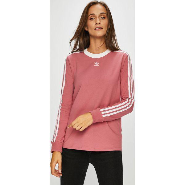 8ba080d2391bf adidas Originals - Bluzka - Różowe bluzki damskie marki adidas ...