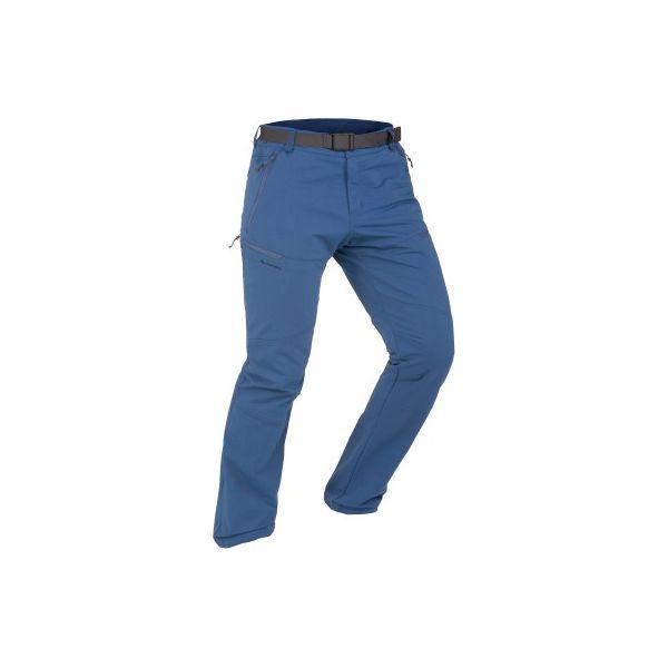 b45a6047d0b3d4 Spodnie turystyczne SH500 x-Warm stretch męskie - Niebieskie spodnie ...