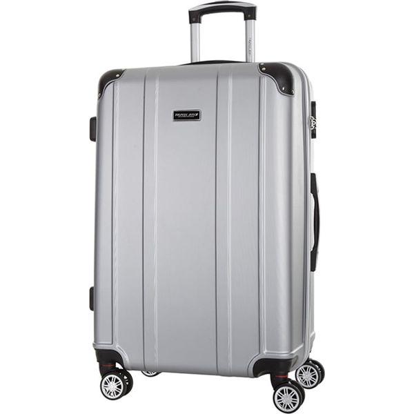 f7bf8abad2d09 Walizka w kolorze srebrnym - 86 l - Szare walizki marki Travel One ...