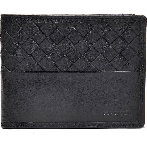 fafd96c9d94c2 PORTFEL MĘSKI - Czarne portfele męskie marki TOP SECRET