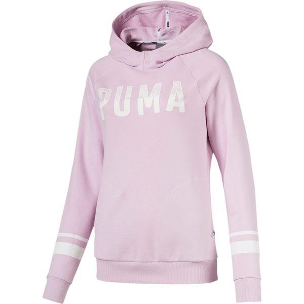 9e051b1cf7c96 Puma Bluza damska Athletic TR Winsome Orchid różowa r. S - Bluzy bez ...