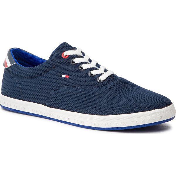 62ce31ac01d5e Tenisówki TOMMY HILFIGER - Essential Oxford Textile Sneaker ...