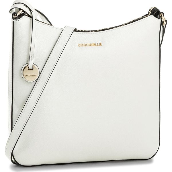 bcd30bf89415a Torebka COCCINELLE - BF8 Clementine Soft E1 BF8 15 04 01 Blanche 010 ...
