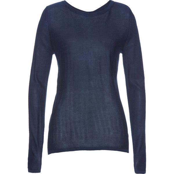 Dodatkowe Sweter z cekinami bonprix ciemnoniebieski - Swetry klasyczne QF19