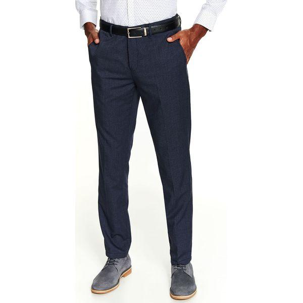 Spodnie we wzór dopasowane
