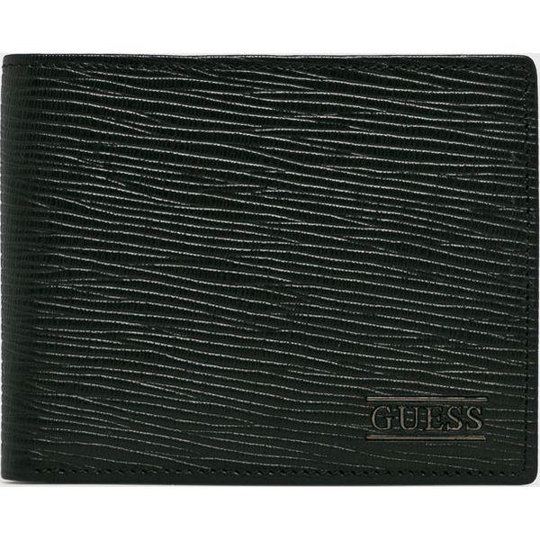 1261a0ee6e692 Guess Jeans - Portfel skórzany - Portfele męskie marki Guess Jeans. Za  279.90 zł. - Portfele męskie - Akcesoria męskie - Mężczyzna - Sklep Super  Express