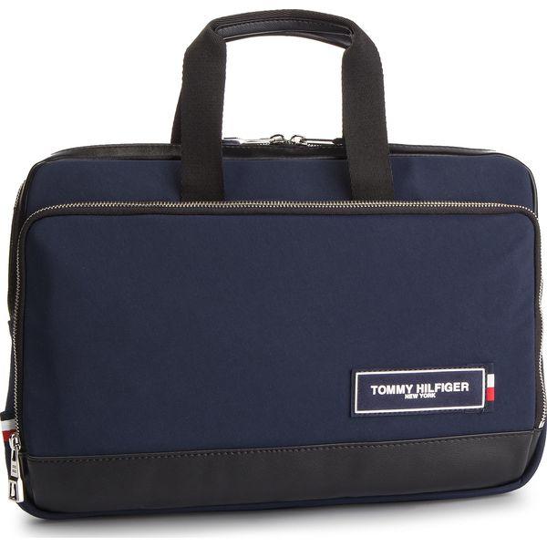 ae87b0c05c4b1 Torba na laptopa TOMMY HILFIGER - Th Patch Slim Computer Bag ...