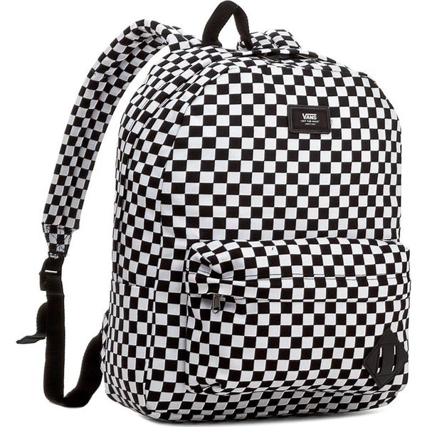 49613ee5bdb67 Plecak VANS - Old Skool II Backpack VN000ONIHU0 Black/White 006 ...