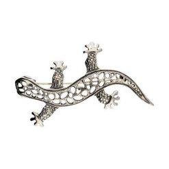 dae3f9cfb81d jaszczurka broszka - zobacz wybrane produkty. Srebrna broszka Jaszczurka B  ...