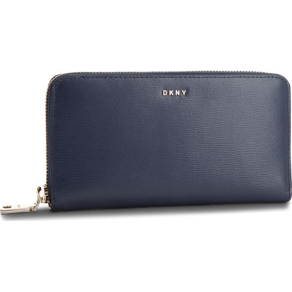 7edcc897ce329 Duży Portfel Damski DKNY - Bryant New Zip Around R8313658 Navy NVY ...