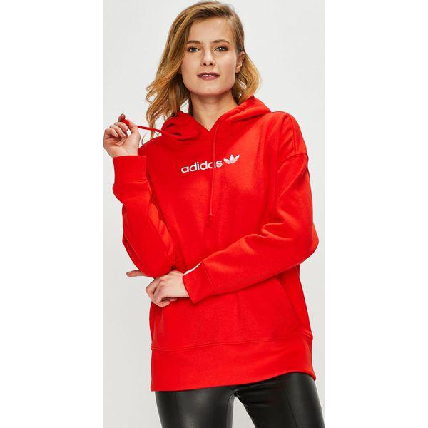 adidas originals bluza damska czerwona