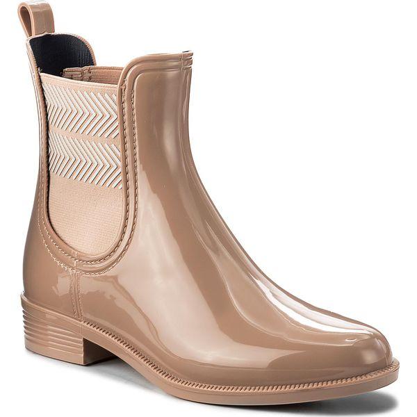 985ca5c38cc2e Kalosze TOMMY HILFIGER - Chelsea Rain Boot Striped FW0FW02817 ...