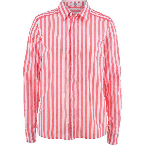 5049d26d126360 Bluzka w paski bonprix koralowo-biały w paski - Bluzki damskie marki ...