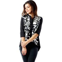 b7dc7d4ee5998d Bluzka w kolorze czarno-białym. Białe bluzki damskie marki Ryłko by Agnes &  Paul