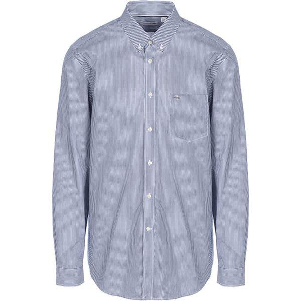 313da785a Koszula w kolorze biało-niebieskim - Koszule męskie marki Lacoste. W  wyprzedaży za 299.95 zł. - Koszule męskie - Odzież męska - Mężczyzna -  Sklep Super ...