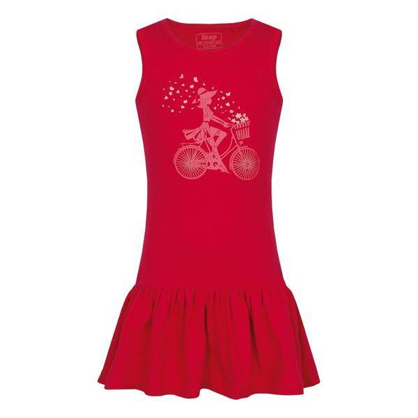 6786d06a Loap Sukienka Dziewczęca Brona 152 Różowy