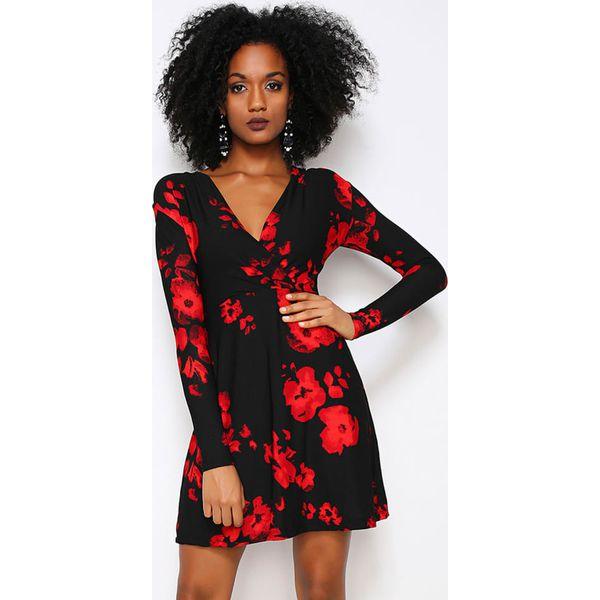 50e51c313d Sukienka w kolorze czarno-czerwonym - Czarne sukienki damskie marki ...